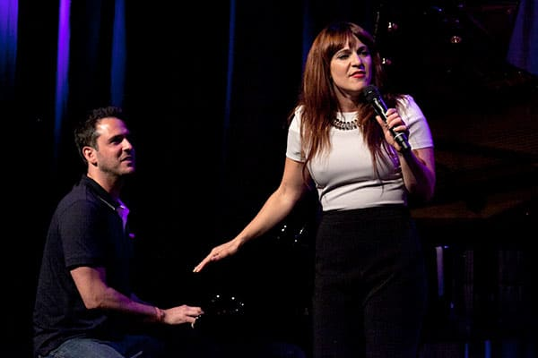 Scott Alan and Shoshana Bean